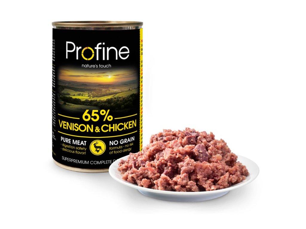 3192 profine pure meat venison chicken 400g