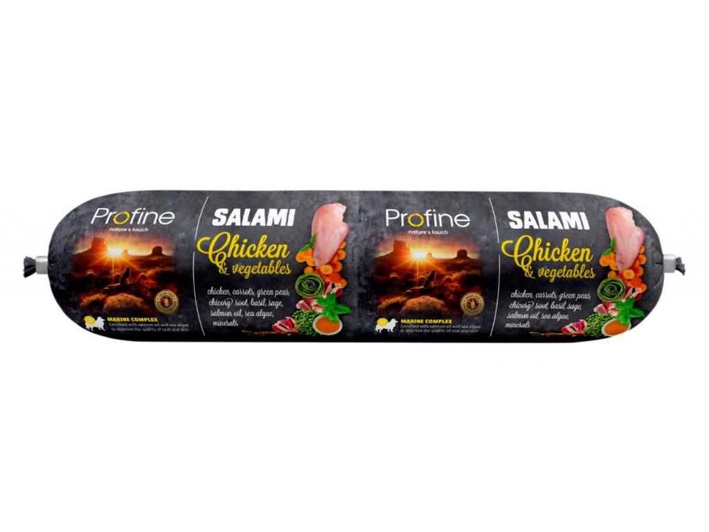 7044 profine salami chicken vegetables 800g