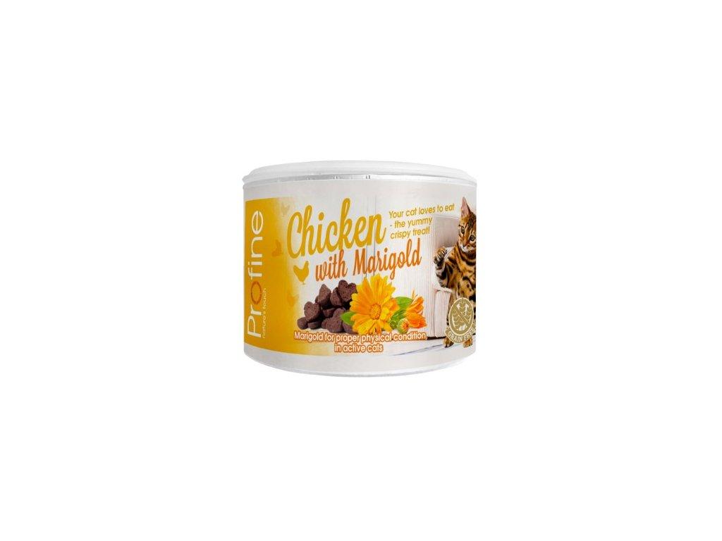 7035 profine cat crunchy snack chicken marigold 50g