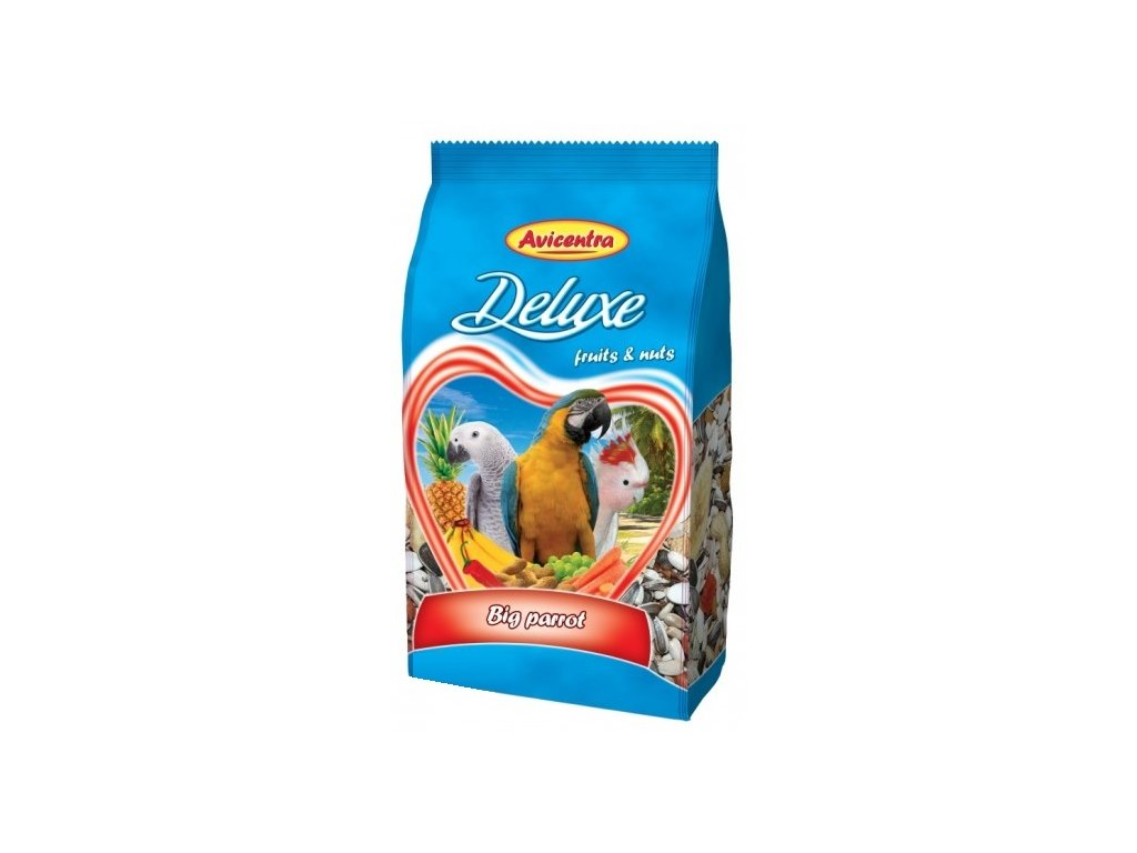5397 avicentra velky papousek deluxe 1kg