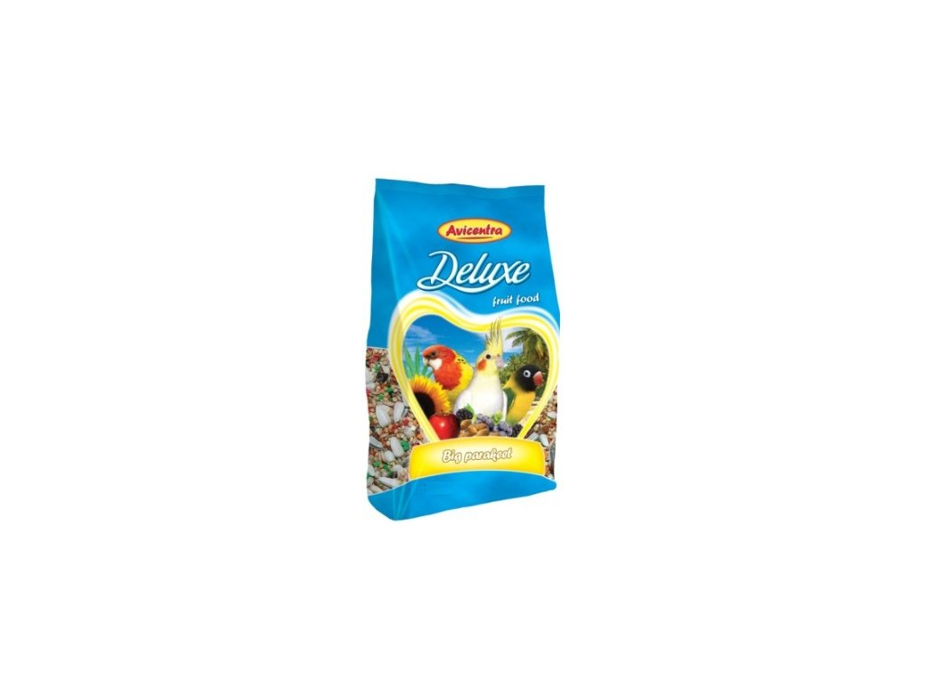 1692 avicentra maly papousek deluxe 1kg
