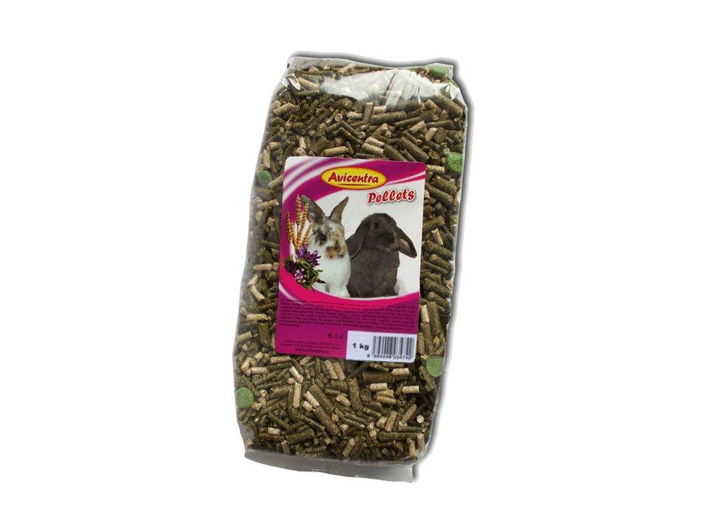 2301 avicentra granule pro kraliky 1kg