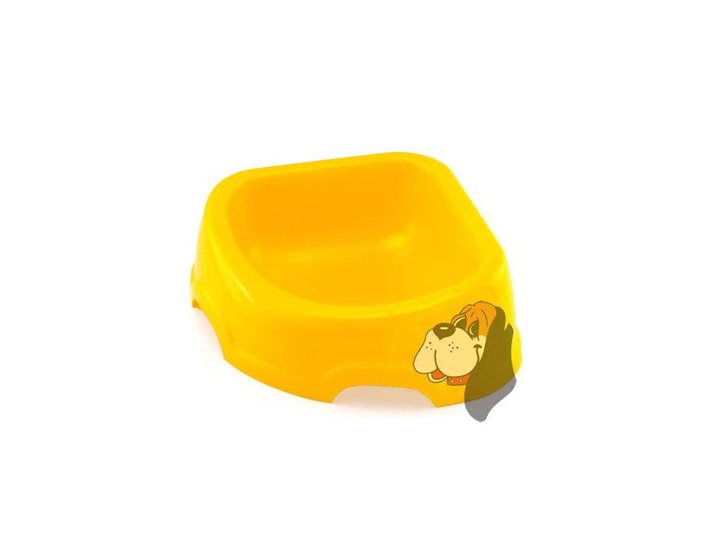 312 plastova miska trojuhelnikova 0 5l