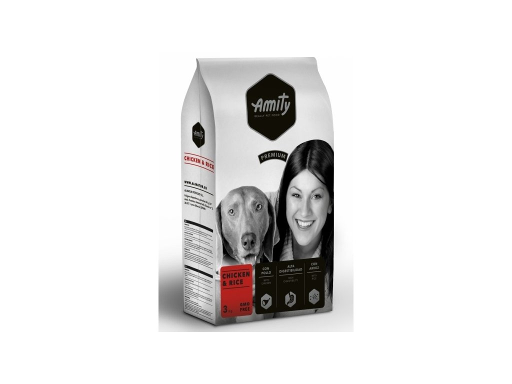 5667 amity premium dog chicken rice 3kg