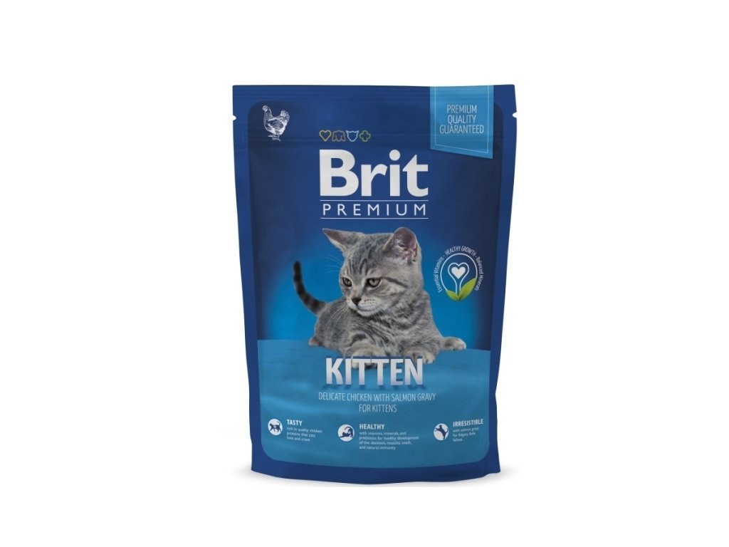 3894 new brit premium cat kitten 800g