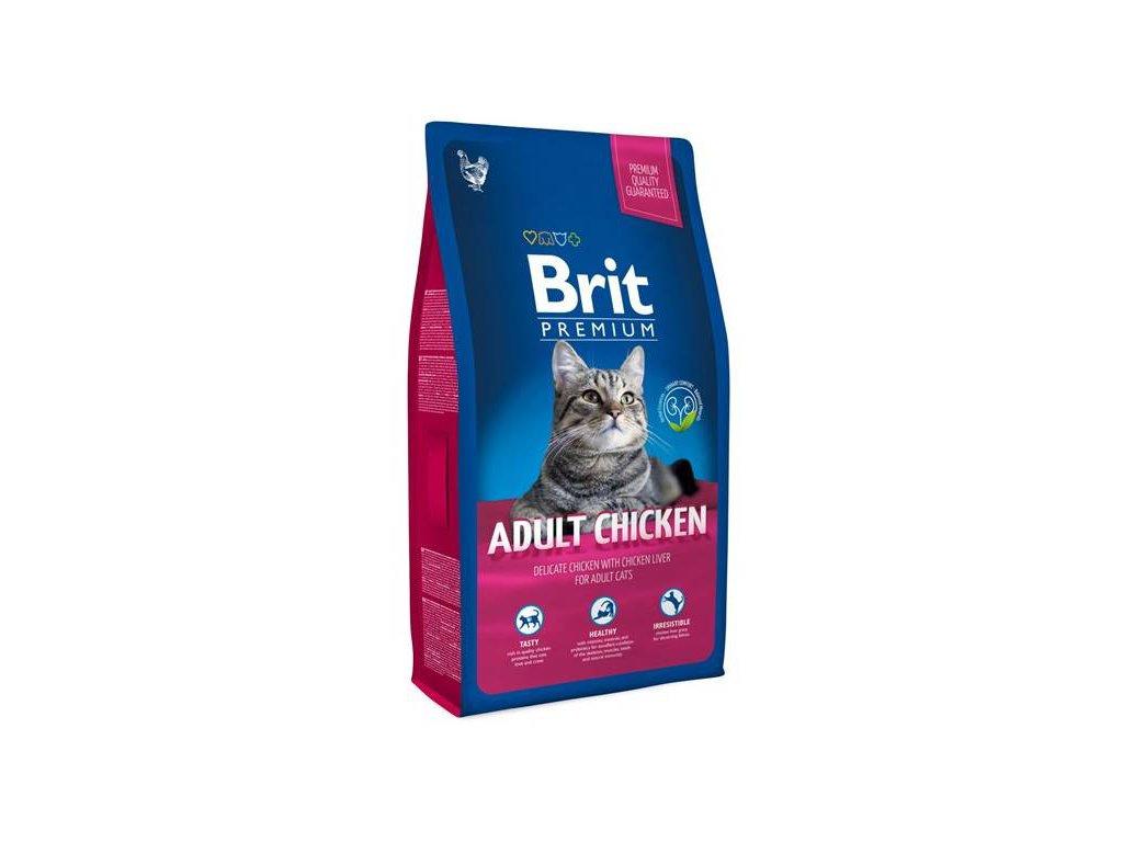 3906 new brit premium cat adult chicken 1 5kg