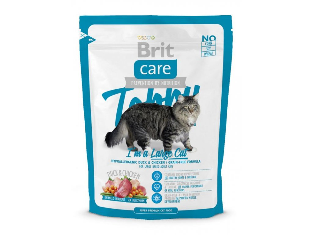 4071 brit care cat tobby i a m large cat 400g