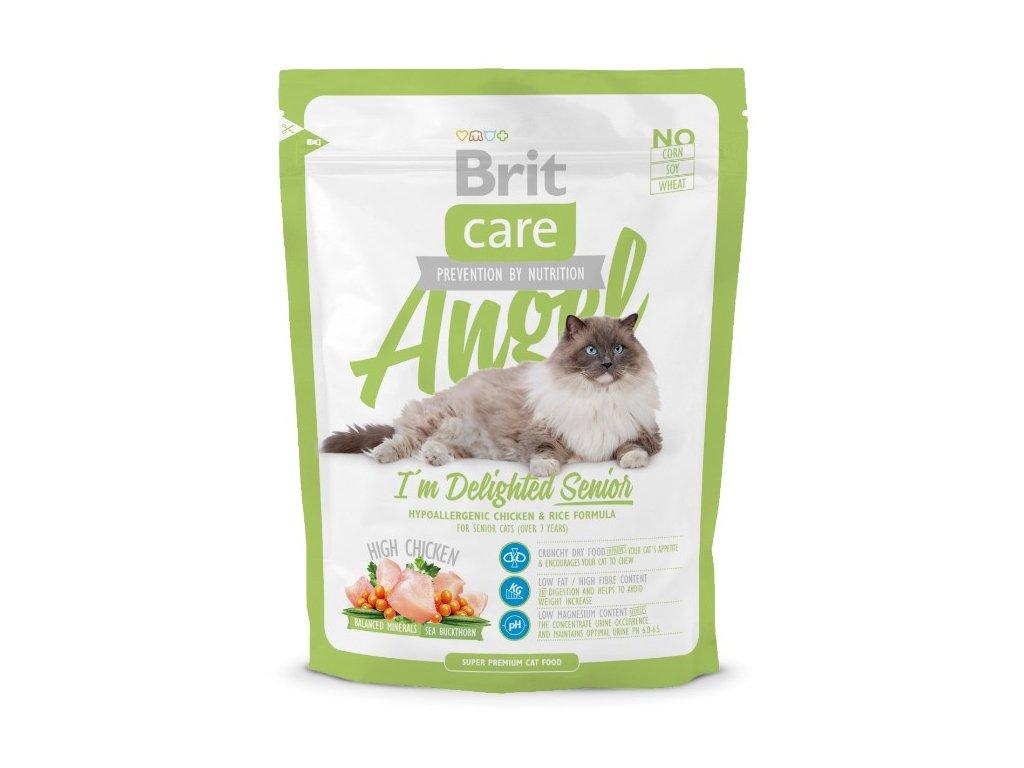 2985 brit care cat angel delighted senior 400g