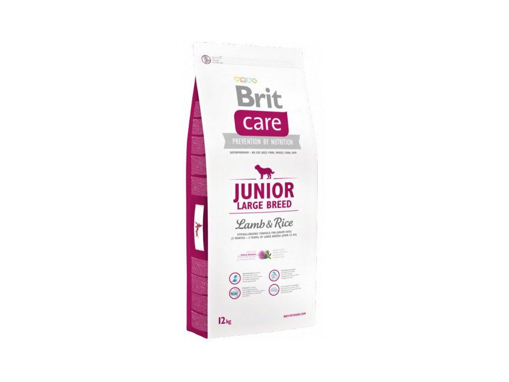 3504 new brit care junior large breed lamb rice 12kg