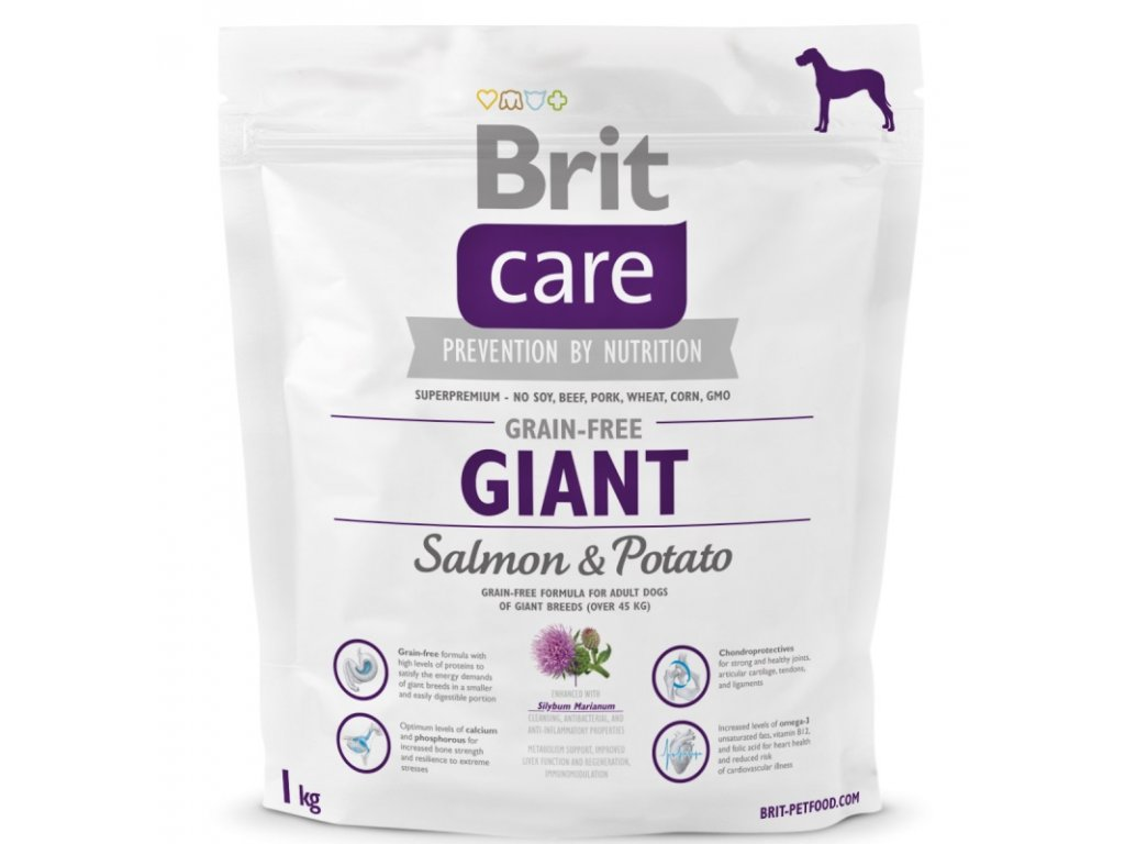 3591 new brit care grain free giant salmon potato 1kg