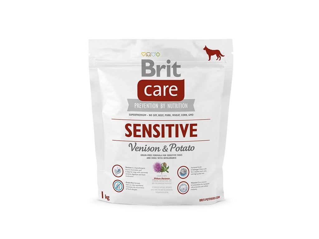 3636 new brit care sensitive venison potato 1kg