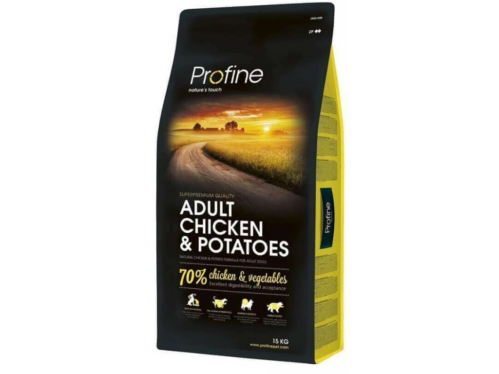 4284 1 new profine adult chicken potatoes 15kg