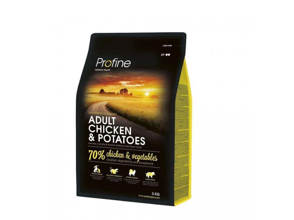 4317 new profine adult chicken potatoes 3kg
