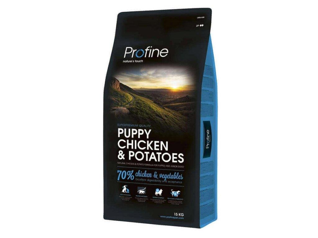 4290 1 new profine puppy chicken potatoes 15kg