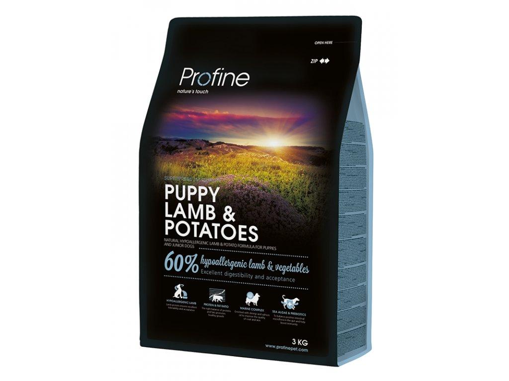4326 new profine puppy lamb potatoes 3kg
