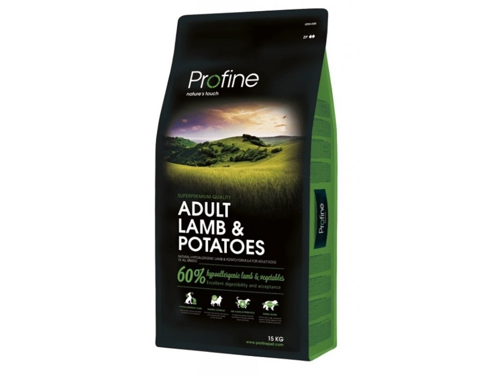 4305 new profine adult lamb potatoes 15kg