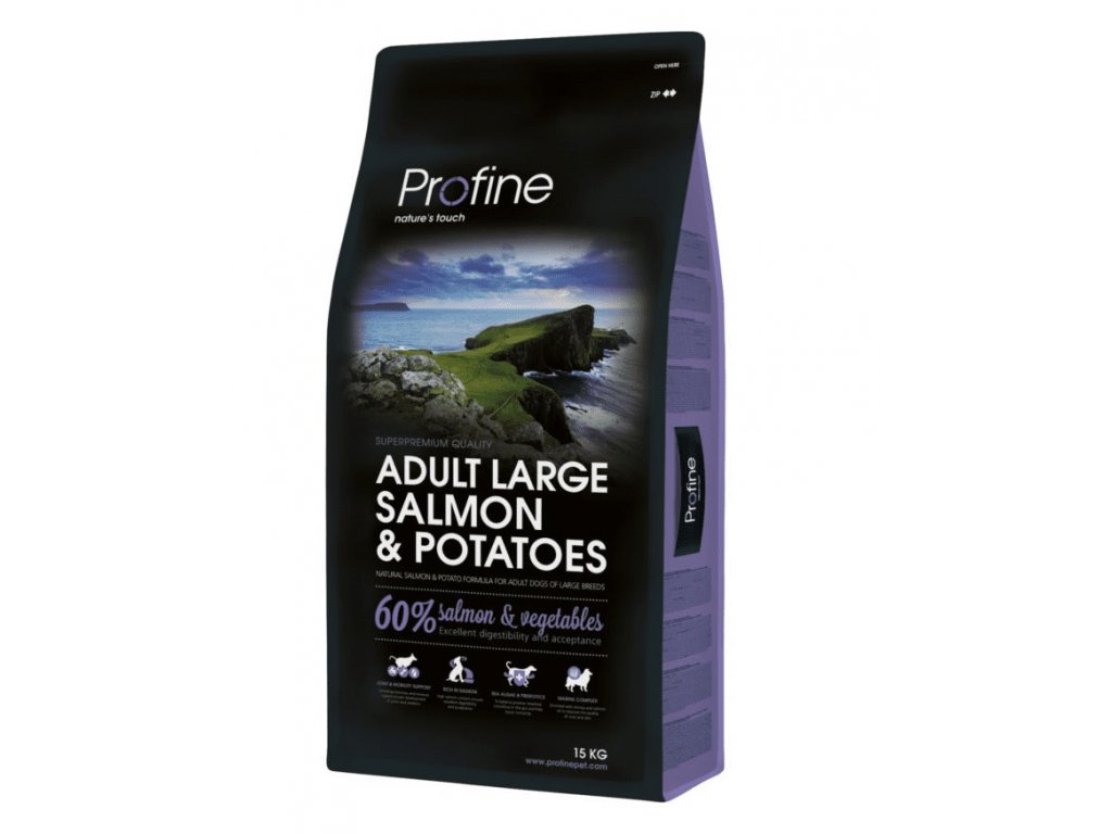 4359 new profine adult large breed salmon potatoes 15 3kg zdarma