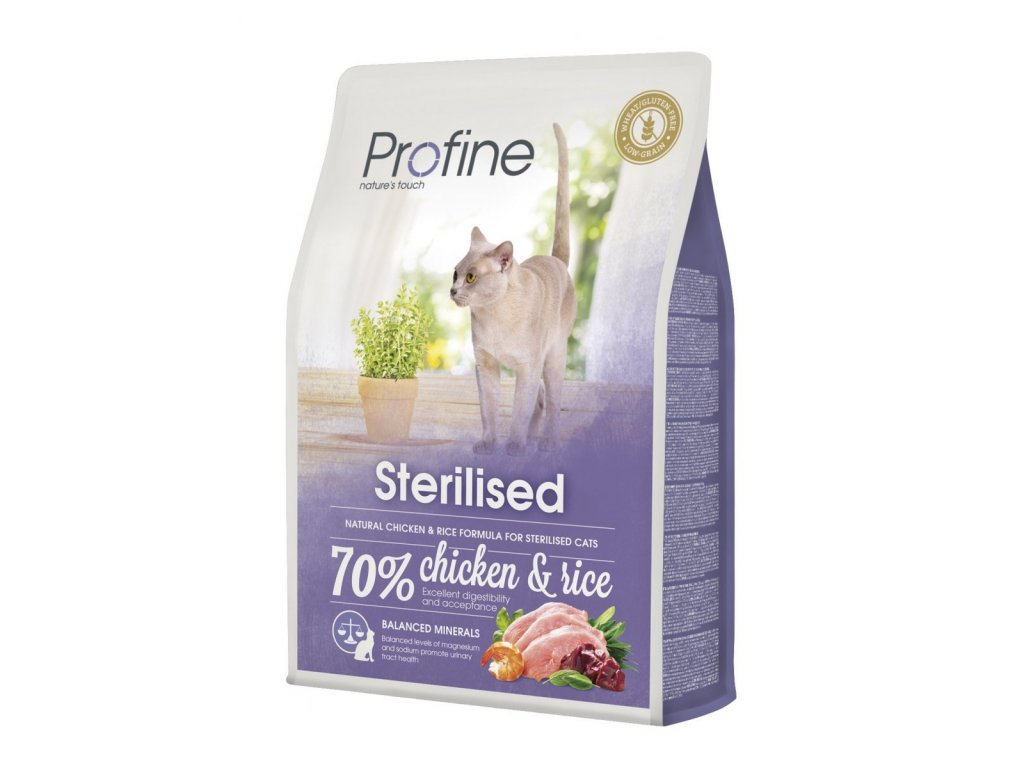 4404 1 new profine cat sterilized 2kg