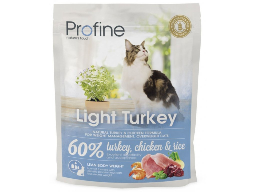 4410 new profine cat light turkey 300g