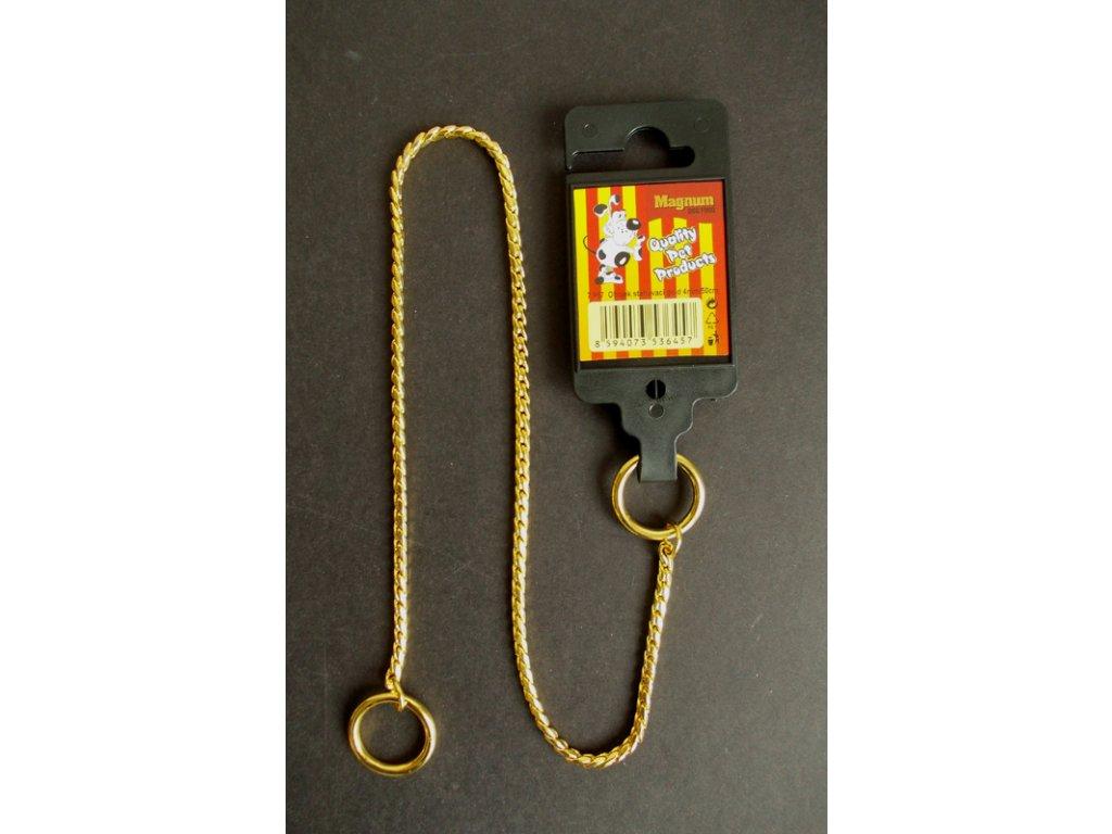 3240 obojek stahovaci gold 4mm x 50cm