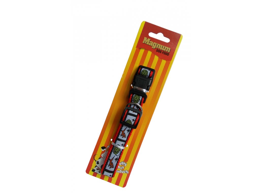 3285 obojek pro psy cerveny 20mm x 35 55cm