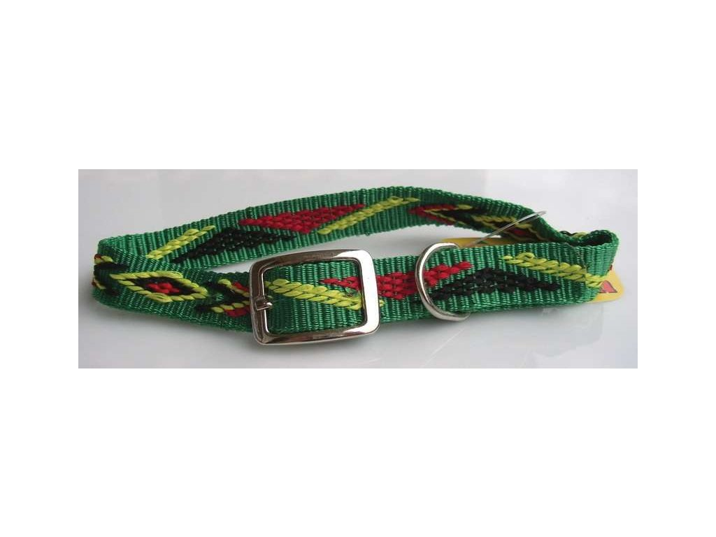 723 obojek nylon indiansky 20mm x 55cm