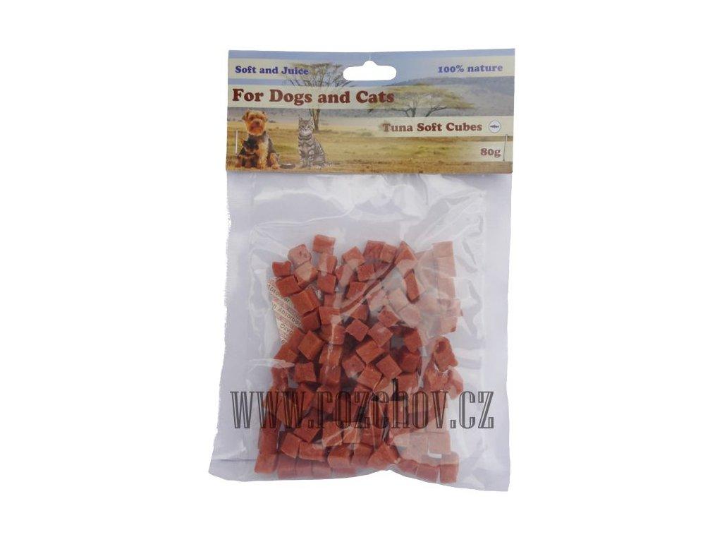 soft d c tunakove maso kosticky cca 1cm 80g