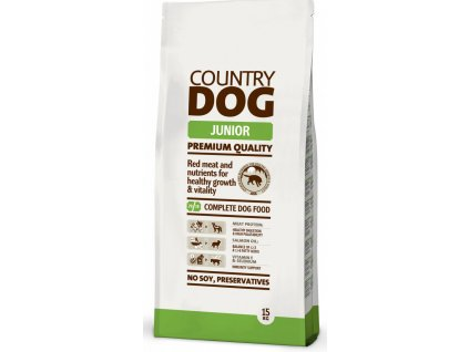 3732 country dog junior 15kg