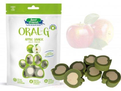 ORAL-G apple snack pro psy s jablkem 75g