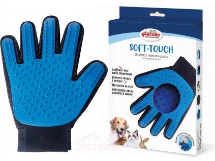 vycesavaci rukavice pro psa