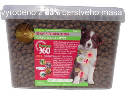 forma dog puppy medium kyblik