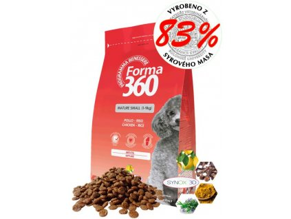 forma dog adult mature senior small 2kg