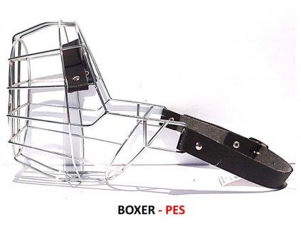 nahubek kovovy boxer pes
