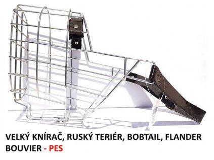 nahubek kovovy velky knirac rusky terier bobtail flander bouvier pes