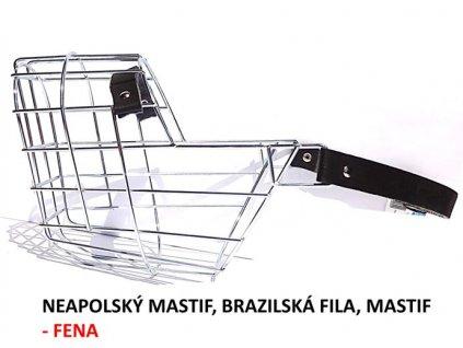 nahubek kovovy neapolsky mastif brazilska fila fena