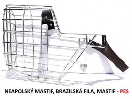 nahubek kovovy neapolsky mastif brazilska fila mastif pes