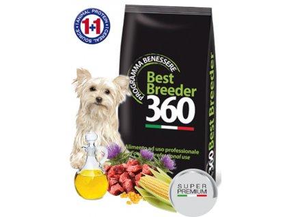 Salute dog adult jelen + kukuřice small 20kg