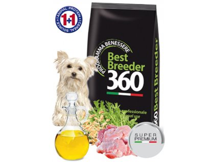 salute dog adult kachna oves small 20kg