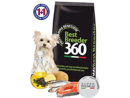 salute dog adult ryba brambor small 20kg