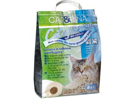 Papírová podestýlka pro kočky