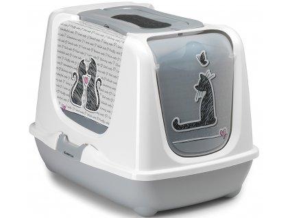 krytá kočičí toaleta