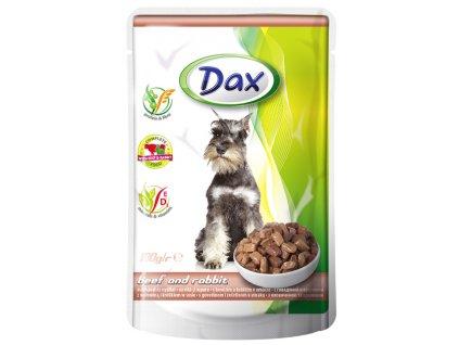 dax 100g kapsicka pro psy hovezi kralik