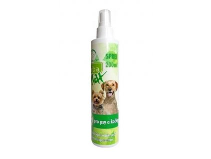 1758 herba max sprej dog cat 200ml