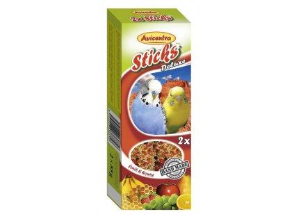 2313 avicentra tycinky andulka vejce med 2ks