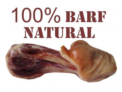 Obří masová šunková kost