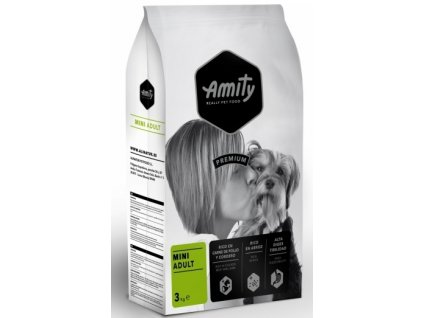 5658 amity premium dog adult mini 3kg