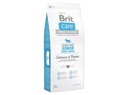 3558 new brit care grain free junior large breed salmon potato 12kg