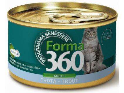 benessere cat forma konz adult pstruh 85g