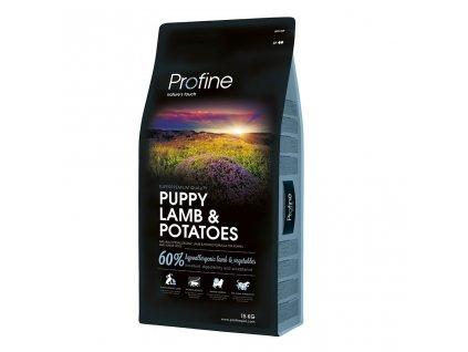 4293 new profine puppy lamb potatoes 15kg