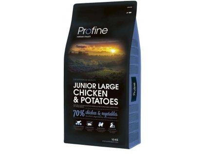 4296 new profine junior large breed chicken potatoes 15kg